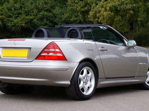 2001 Mercedes-Benz SLK 230