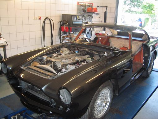Aston Martin DB4 S.S. 1963