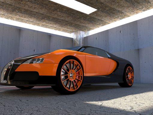 Bugatti Veyron Prototipo