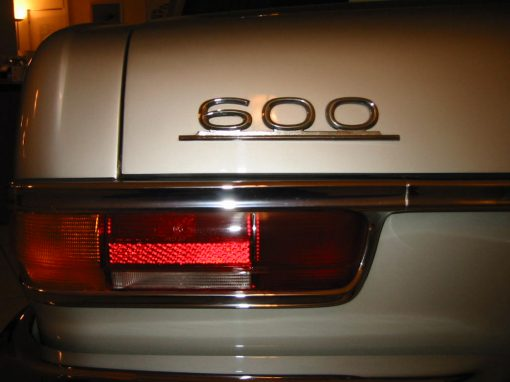 Mercedes-Benz 600, 1972