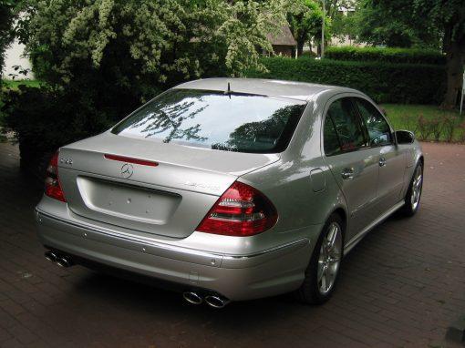 Mercedes-Benz E55 AMG, 2003, Neufahrzeug