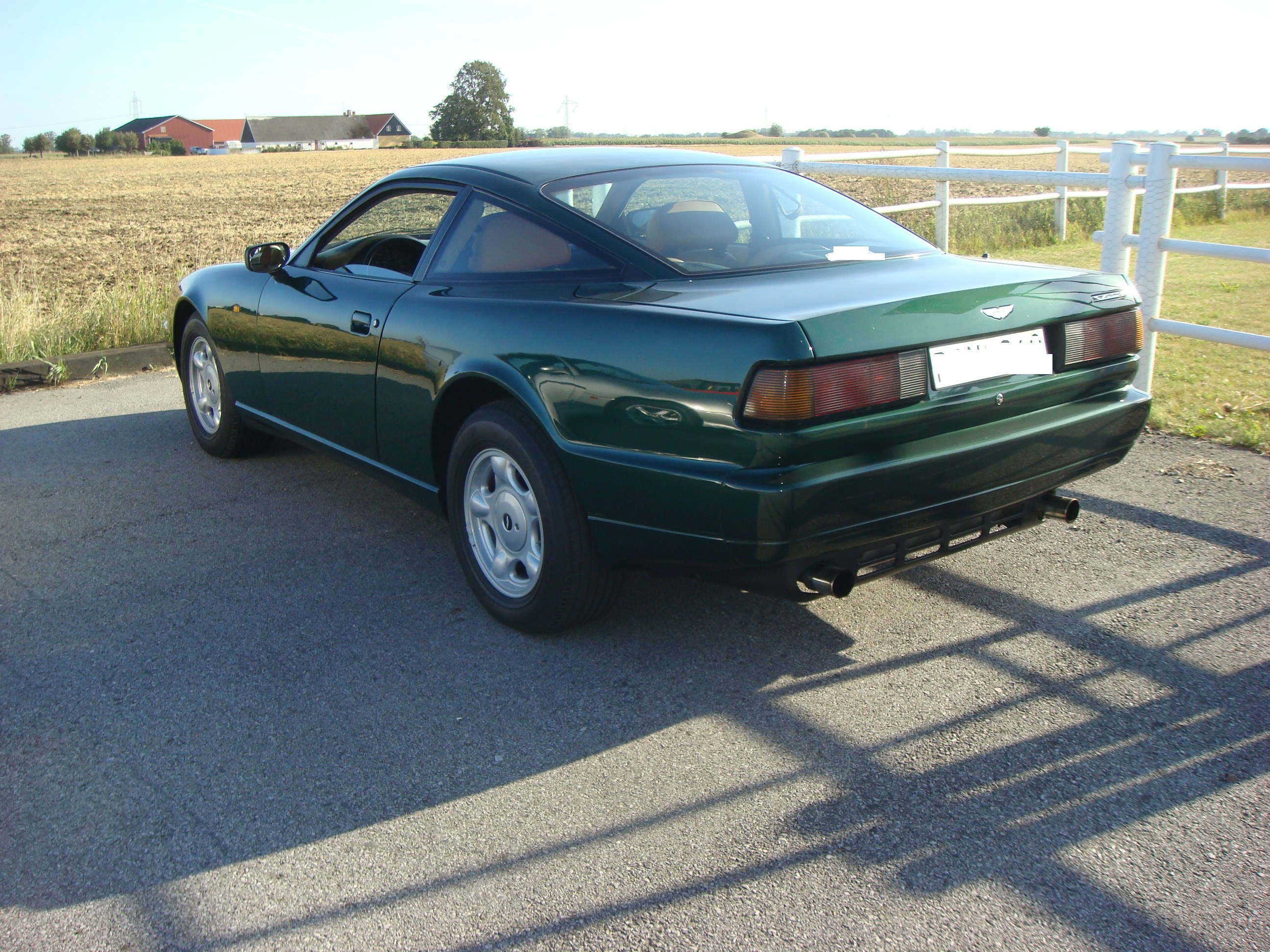 Aston Martin Virage, 1992