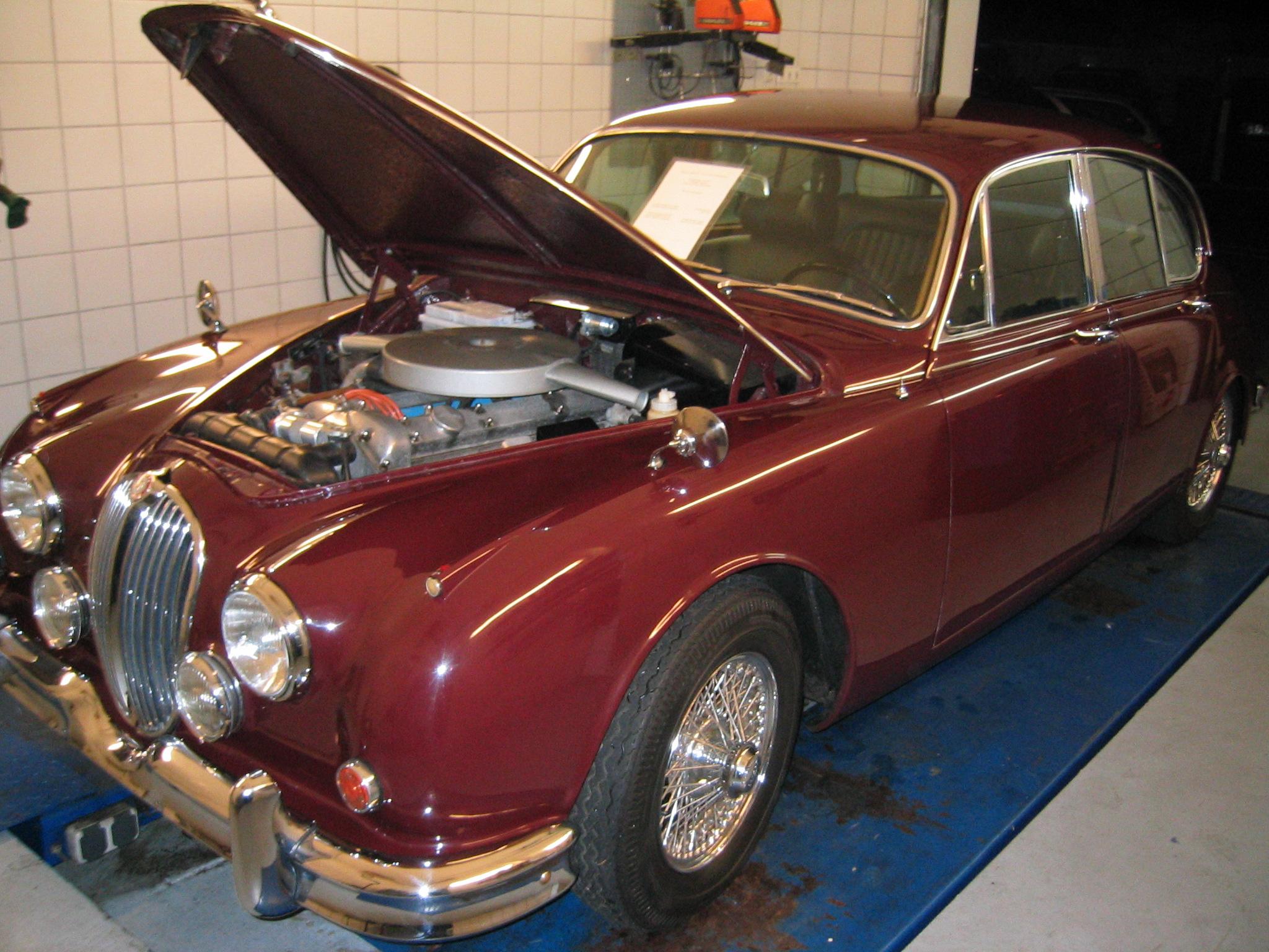 Jaguar MK II. 3.8, 1968