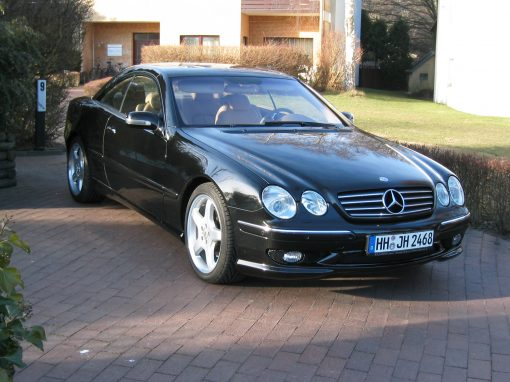 Mercedes-Benz CL 600 AMG, 2003