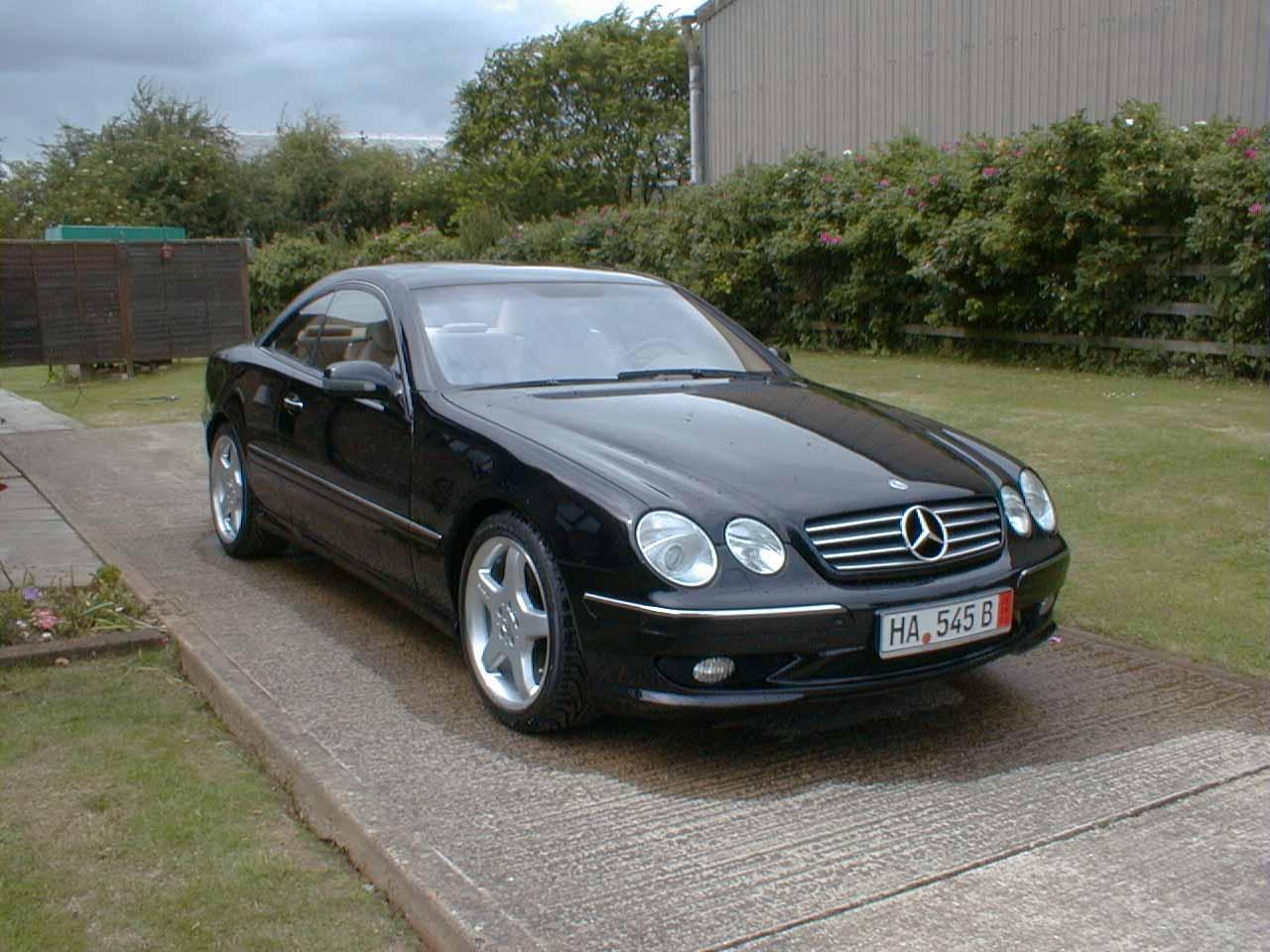 Mercedes-Benz CL500 AMG, 2001