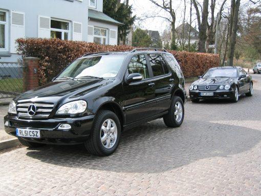Mercedes-Benz ML500, 2004, Ex-Steffen Freund