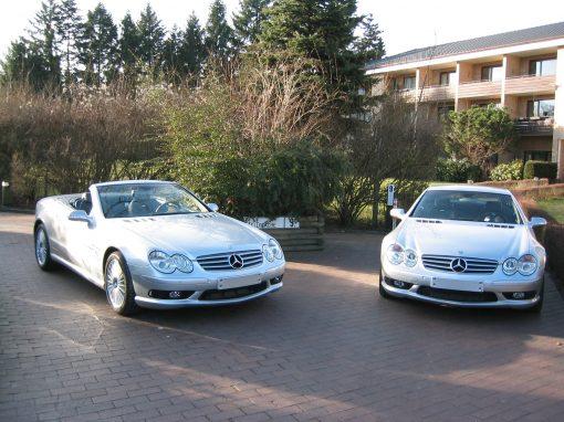 Mercedes-Benz SL55 AMG, 2002, Neufahrzeuge