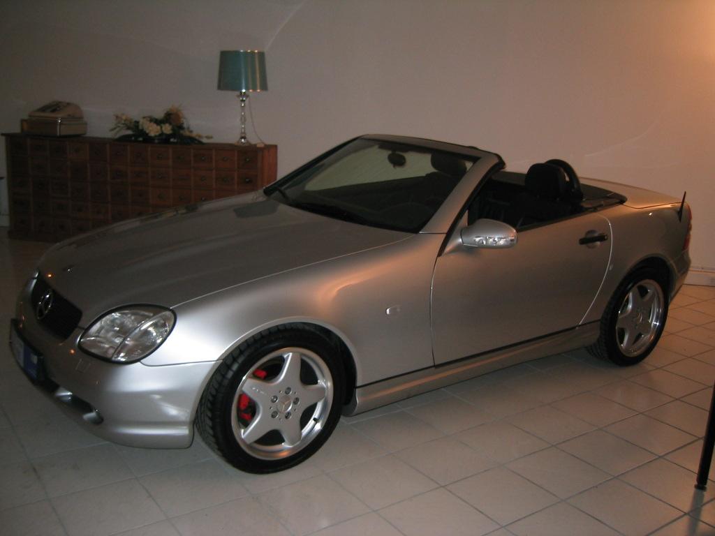 Mercedes-Benz SLK 230 K, 2000